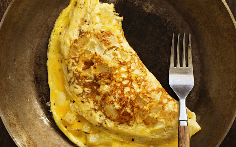 omlet-bialkowy